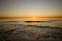 Sunset on the Beach Løkken, Nordjylland, Denmark  von Tobias Steinicke