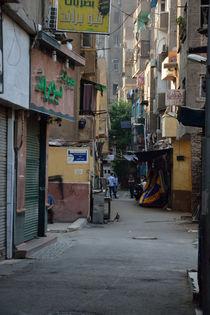 Gasse Kairo 2 von Bernd Fülle