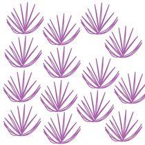 pink seaweeds on white von Jana Guothova
