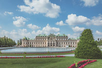 The Upper Belvedere in Vienna von Silvia Eder