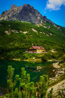 Cottage at Zelene Pleso by Zoltan Duray