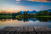 Fishponds in the High Tatras von Zoltan Duray