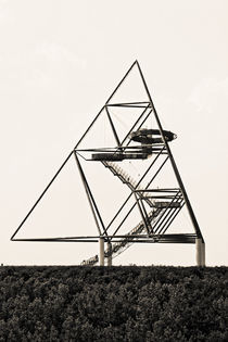 Tetraeder Bottrop (7-466032) B+W by Franz Walter Photoart