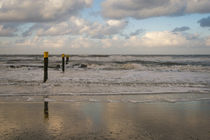 At the Beach of Norderney in Germany by Tobias Steinicke