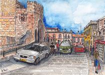 Jerusalem An der Zitadelle by Hartmut Buse