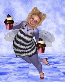 Pummelfee bringt Cupcakes von Conny Dambach