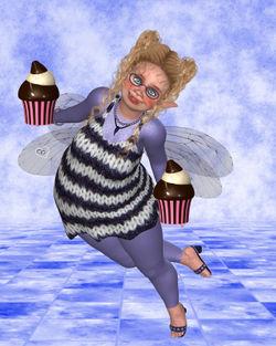 Pummelfee-bringt-cupcake