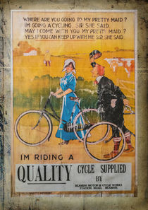 Cycle Supplier Advertisement by Colin Metcalf