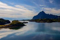 Kabelvåg on Lofoten Islands in Norway von Tobias Steinicke