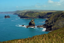 Coastline between Boscastle and Tintagel von Sabine Radtke