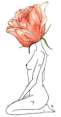 rose yoga by Pamella Ramos