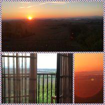 Romantic sunset by Monika Mariotti