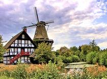 Holländer Galeriewindmühle by garrulus-glandarius