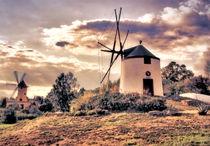 Portugiesische und mallorquinische Windmühlen von garrulus-glandarius