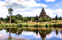 Russisch-orthodoxe Holzkirche von garrulus-glandarius
