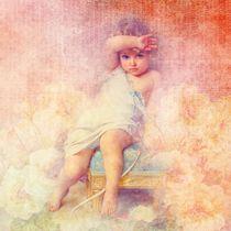 Cute vintage little angel von past-presence-art