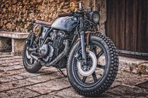 Yamaha motorcycle by past-presence-art