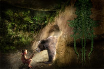 Girl & Bear by Thomas Stracke