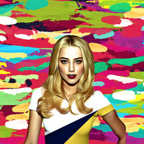 Amber Heard - Celebrity by mosaicart