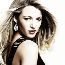 Blake Lively - Celebrity by mosaicart
