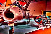 F-86 Sabre Jagdflugzeug by ivica-troskot