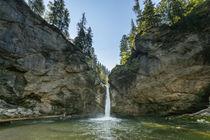 Buchenegger Wasserfälle bei Steibis im Allgäu by Thomas Keller