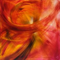 Roter Lichtertanz by Annette Schmucker