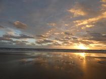Autumn Sunset von Mark Rosser