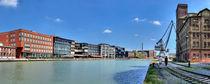 Panorama Alter Flechtheimspeicher am Hafen von Münster mit Kreativkai by Münster Foto
