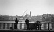 View of Istanbul Turkey von Daria Mladenovic