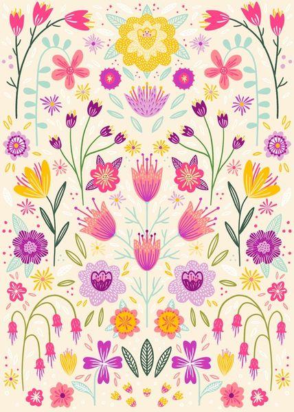 Floral-symmetry