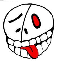 skull red eye by Sven Herold
