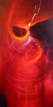 Roter Lichtertanz 2 von Annette Schmucker