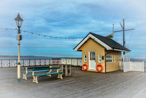 On Penarth Pier by Ian Lewis