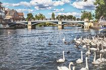Windsor Town Bridge von Ian Lewis