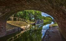 Under The Bridge At Pewsey Wharf von Ian Lewis