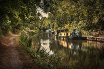The Kennet and Avon Canal at Pewsey von Ian Lewis