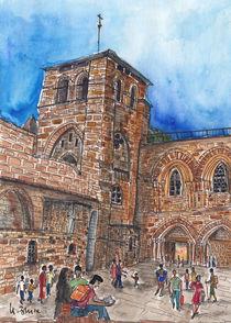 Jerusalem, Grabeskirche von Hartmut Buse