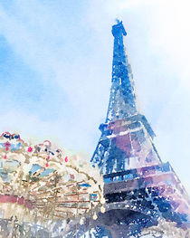 Spring in Paris by Anne Leven