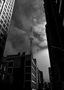 Downtown Toronto Fogfest No 6 by Brian Carson