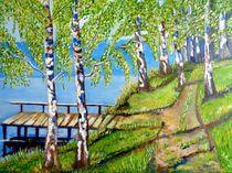 Birken am See  von rita-markgraefe