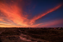 Sonnenaufgang über Vorupør  von Stephan Darm