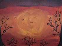 Sonnenuntergang im Winter von ben-painting-artist