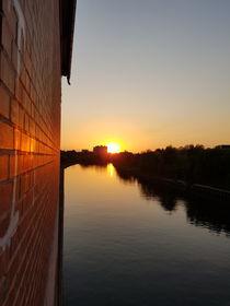 Sonnenuntergang  von farbfotografie