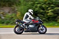 BMW RR Motorrad supersport Maschiene on Speed  von ivica-troskot