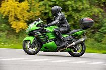 Kawasaki ZZR Motorrad on Speed von ivica-troskot