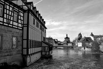Bamberg: Mühlviertel und Altes Rathaus  by wandernd-photography