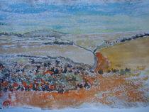 Aragon,Halbwüste  Monegros von Gerhard Stolpa