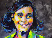 Anne Frank by MARIE-ARMELLE BOREL