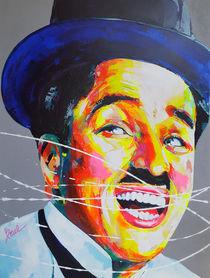 Charlie Chaplin by MARIE-ARMELLE BOREL